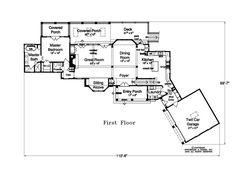 Spitzmiller & Norris Premier Residential Designers | House Plans | Woodland Retreat :: Spitzmiller & Norris, Inc.