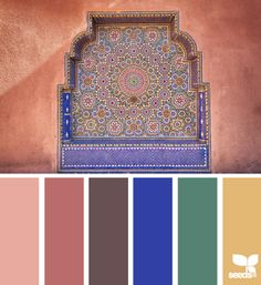 Mosaic Hues - http://design-seeds.com/index.php/home/entry/mosaic-hues