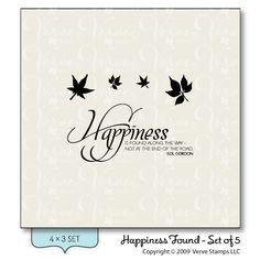 Happiness Found - Verve Stamps Inspiration Gallery