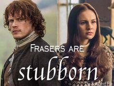 Outlander's Jamie and Brianna