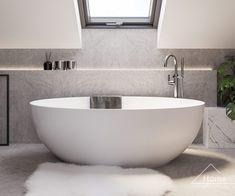 Attic Bathroom, Attic Rooms, Wet Rooms, Small Bathroom, Dream Bathrooms, Beautiful Bathrooms, Modern House Plans, 2nd Floor, Bathroom Inspiration