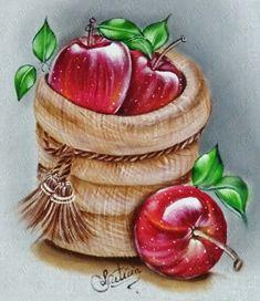 Apple Clip Art, Apple Art, Poster Color Painting, Fabric Painting, Apple Background, Glue Art, Apple Decorations, Seashell Painting, Pumpkin Art