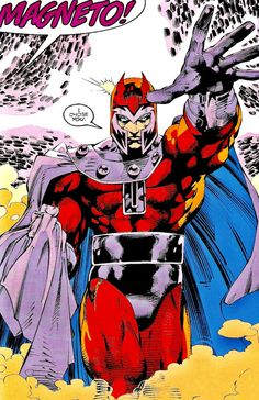 super-nerd: Magneto by Jim Lee Marvel Comic Universe, Marvel Comics Art, Marvel Comic Books, Comics Universe, Comic Book Characters, Marvel Characters, Comic Character, Comic Books Art, Comic Art