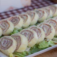 Nepečená syrová roláda - Receptik.sk Sushi, Ale, Ethnic Recipes, Instagram, Food, Basket, Ale Beer, Essen, Meals