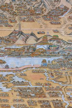 Chinese Map Wallpaper