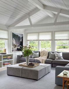 déco salon style minimaliste maison grange déco chic #minimalist #style #livingroom #interiordesign #salon