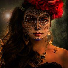 Dia De Los Muertos by Phatpuppy Art