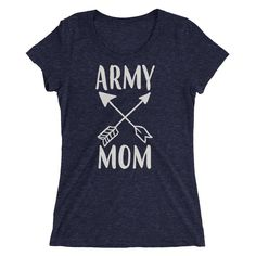 Ladies' Army Mom t-shirt - Mom gift for just $25.00