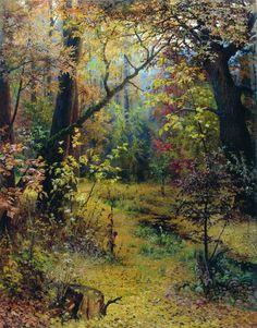Grigoriy Myasoyedov - Autumn Morning, 1893