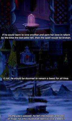 Beauty and the Beast opening
