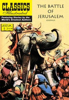 Cover for Classics Illustrated (JES) (Classic Comic Store, 2008 series) #5 - The Battle of Jerusalem
