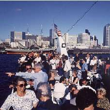 Flagship Cruises: One Hour Harbor Cruise OR Whale Watch - included attraction on the Go San Diego Card!