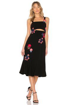 Tanya Taylor Olivia Dress in Black | REVOLVE