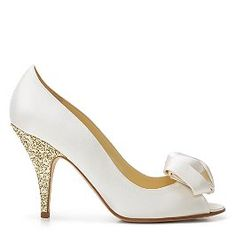 I think this is the pair of shoes for the wedding... please don't look at how much they cost!