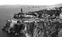 Buena Vista, Gibraltar, in the 1860s by George Washington Wilson & Co - links to large collection of 1860s photographs of Gibraltar at http://gibraltarphotos.blogspot.co.uk/