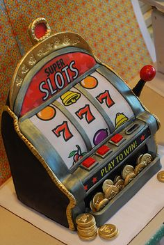 slot machine cake by Sweet Fix, via Flickr