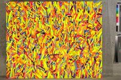 Obraz, který vypadá jako malba, 2012, 100x123cm akryl na OSB desce-web