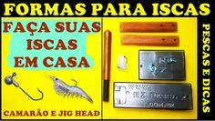 Formas de Alumínio RZ Pesca - Para Isca Artificial [Pescas e Dicas]
