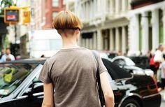 #short hair #undercut