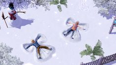 We all love the winter months especially Christmas. However, now you can make a snowman with your family, lie down on the snow and flap your arms and legs to imprint a beautiful angel snow images, have a good snowball fight or just do whatever you love to do in the winter seasons virtually with Sims 3 Seasons game. If you have not played this game yet, then it is time for you to get Sims 3 Seasons Crack and play this game for free. Enjoy!