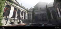 ArtStation - Ryse - Son of Rome :: Forum Level :: Villa Atrium :: CryEngine, Finn Meinert Matthiesen