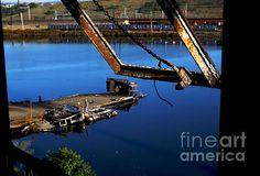Decayed Hull Iv - photograph by James Aiken james-aiken.artistwebsites.com #jamesaiken #abandonedplaces #shipwreck