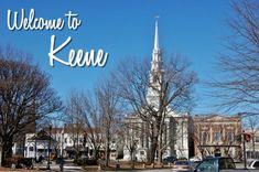Main Street in Downtown Keene, New Hampshire