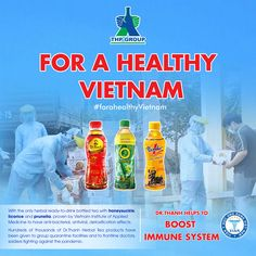 Tan Hiep Phat (THP) Group, Vietnamese's leading privately-owned Fast-Moving-Consumer-Goods send in tens of thousands of their flagship Dr Thanh Herbal Tea, a bottled beverage formulated with nine different herbal ingredients known for their properties in boosting the immune system and cooling the body's inner heat. #THP #community #herbaltea
