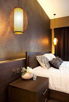 Feng shui lighting - two bedside lamps
