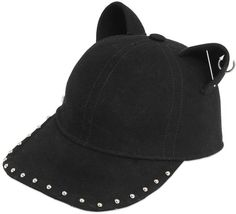 Choupette Wool Cap With Piercings