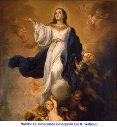 Diciembre 8, Inmaculada concepción. Oración: Oh Dios, que por la Concepción inmaculada de la Virgen María preparaste a tu Hijo una digna morada, y en previsión de la muerte de tu Hijo la preservaste de todo pecado, concédenos, por su intercesión, llegar a ti limpios de todas nuestras culpas. Por Jesucristo, nuestro Señor. Amén.  #PrayForPeace #Pray #Faith