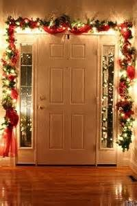 inside front door at Christmas. Looks just like our front hall. Good ...