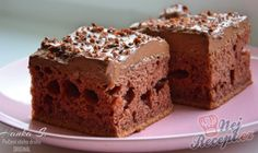Kefírová buchta z 1 vajíčka | NejRecept.cz Sweet Cakes, Kefir, Tiramisu, Brownies, Easy Meals, Easy Recipes, Food And Drink, Baking, Drinks