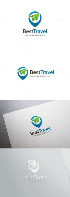 Best Travel Logo. Logo Templates. $24.00