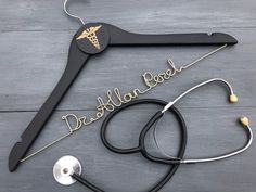 Presents For Boyfriend, Boyfriend Gifts, White Coat Ceremony, Doctor Coat, Personalized Hangers, Medical Gifts, Gifts For Veterinarians, Student Gifts, Med Student