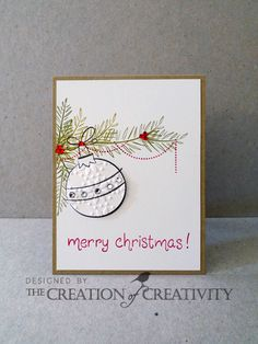The Creation of Creativity: Jay Gee's Nook DT: merry CHRISTmas