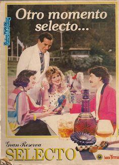 Publicidad retro en Venezuela: Ron Selecto  años 80s