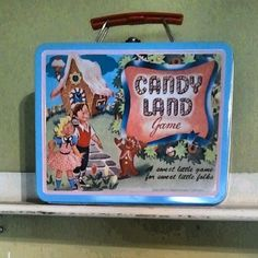 Sweetest little lunch box! Candy Land game Lenox Village Antique shop Photo by restornationdesigns • Instagram
