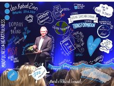 """Nina Karlsson on Twitter: """"Thank you @jonkabatzinn for sharing your #mindfulness thoughts! My visualisation of the evening. @PennanenLeena @ilkanmielesta #sketchnotes https://t.co/qsdcOPp87o"""""""