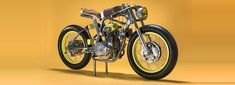titan motorcycles customizes honda CB350 as racer from the 1950s