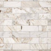 Brick Discover Bianco Orion Marble Tile - 4 x 12 - 100464858 Bianco Orion Marble Tile Stone Tile Flooring, Stone Backsplash, Kitchen Flooring, Backsplash Ideas, Kitchen Tiles, Backsplash Panels, Bathroom Flooring, Kitchen Cabinets, Country Kitchen Backsplash