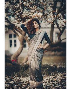 Me & Myself  Spring in Wuppertal  MODEL @prisanthi_mua PHOTO @shankarphotography  Saree @jenthyarjun Location Wuppertal Germany Wuppertal Germany, Up Hairstyles, Sari, Model, How To Make, Instagram, Fashion, Saree, Moda