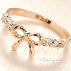 Jewellery - Beautiful Bow Ring