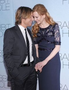 Keith Urban and Nicole Kidman at the Rabbit Hole Premier
