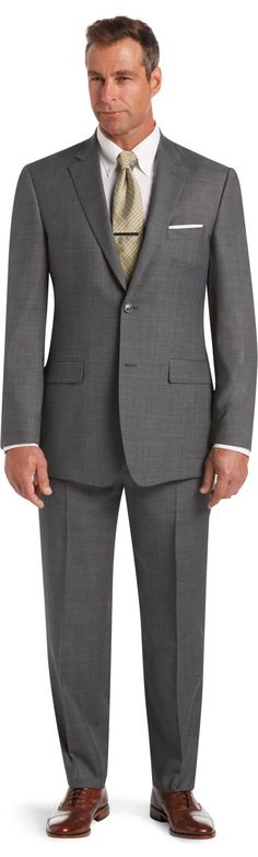 Classic Collection Tailored Fit Suit Big and Tall