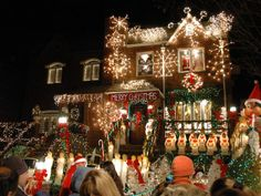 For something a bit different, make your way to Brooklyn's Dyker Heights, where Christmas decorations are on steroids. This predominantly It...