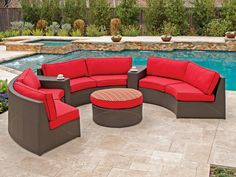 Circular Seating For Six. Comfort, Style And Conversation! Http://www ·  Resin Wicker FurnitureOutdoor ...