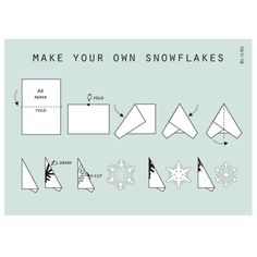 Papier vouwen sneeuwvlok