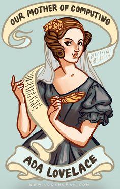 Geek Art Gallery: Illustration: Ada Lovelace