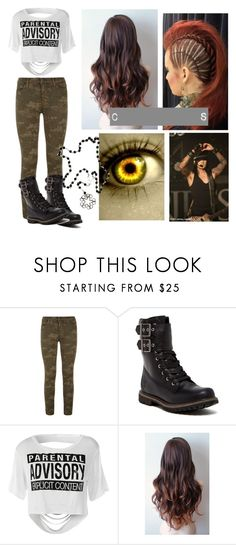 """""""The Deviant's girlfriend"""" by reincarinatemotionlessveilbrides ❤ liked on Polyvore featuring J Brand and Timberland"""